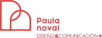 Paula Noval, Diseño & Comunicación Logo
