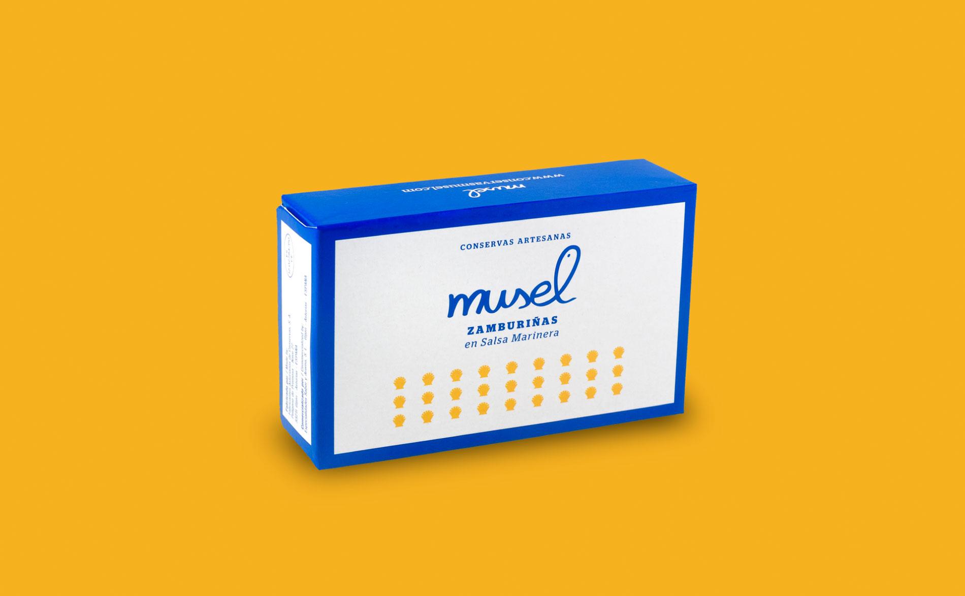 El Musel, diseño de Packaging