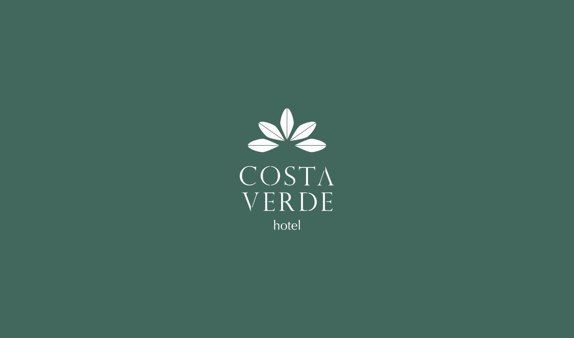 Diseño de marca para el hotel Costa Verde de Gijón.