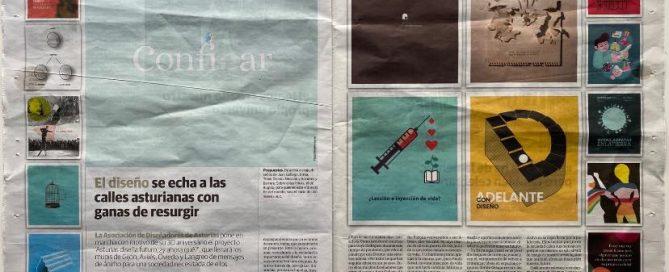 Paula Noval en el diario El Comercio con motivo del 30 Aniversario de AGA.